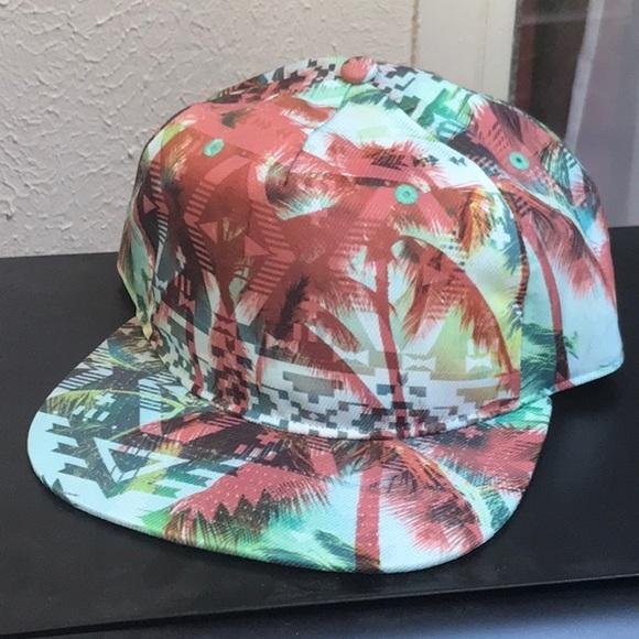 8fd59944b8101 Summer tropical snapback hat new skater surfer cap.  M 5abe88db36b9de87a56e5e7d